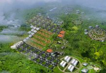 rendering china city