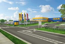 cary town center ikea rendering