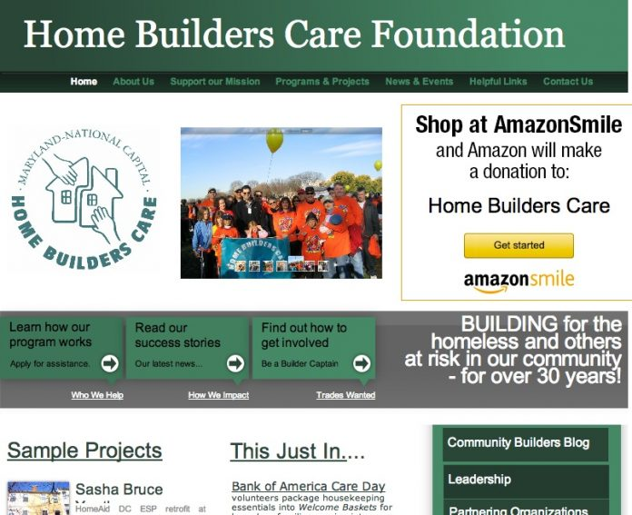 home builders care foundation
