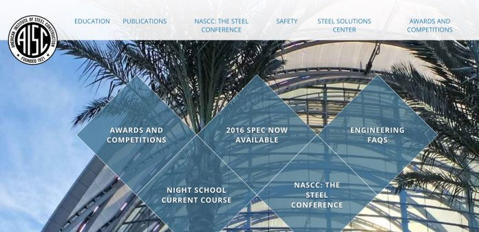 The AISC webpage