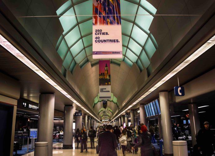 Terminal 3 at O'Hare Airport