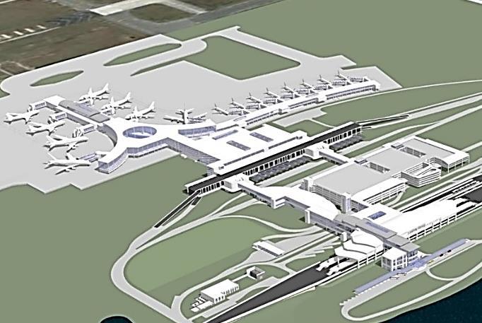 orlando airport roadway