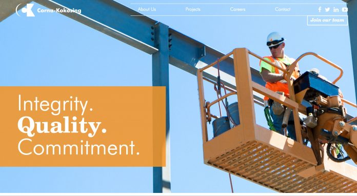Corna Kokosing Construction Co. website