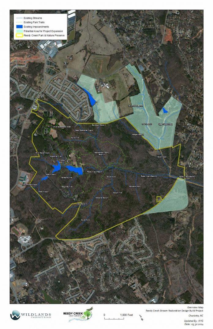 overview map ruddy clreak