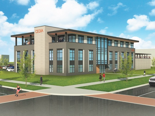 cedia headquarters rendering