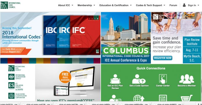 ICC website