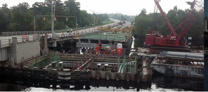 Elizabeth City city bridge