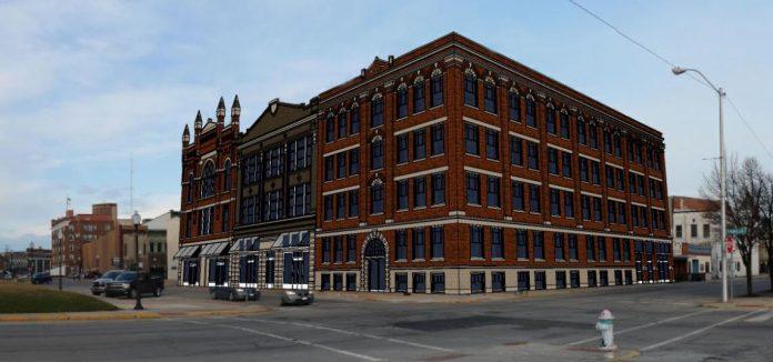 UB Block building