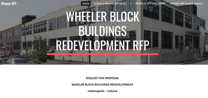 wheeler RFP