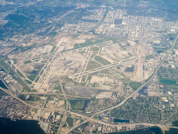 ohare airport image