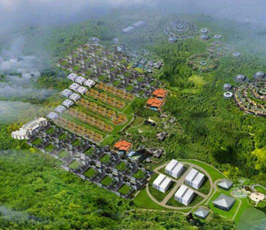 rendering china city