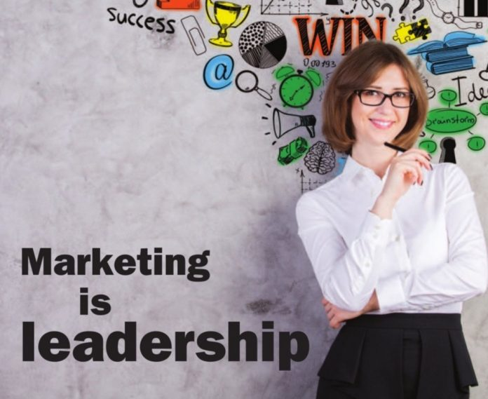 marketing is leadership