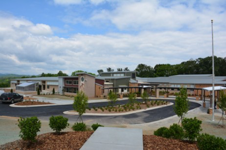 Isaac Dickson Elementary School in Ashville