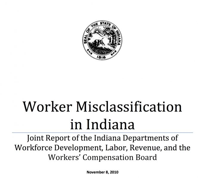 worker misclassification