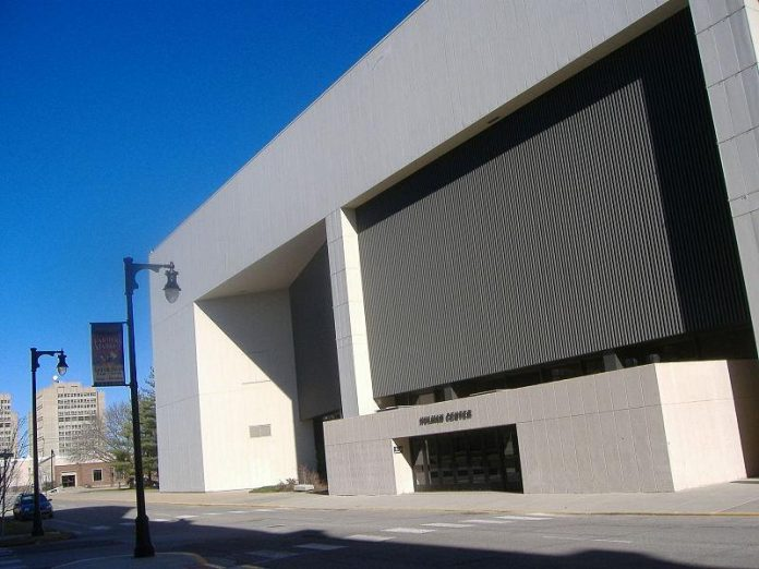 The Hulman Center is finally getting a $50 million renovation as the state releases $37.5 million to mobilize the project. Image source: http://wikipedia.org (attribute to C. Bedford Crenshaw)