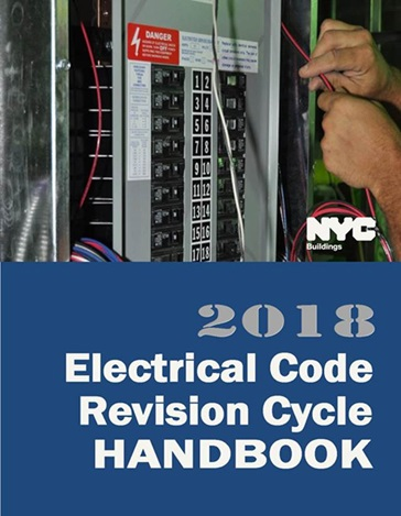 2018 Electrical Code Revision Cycle Handbook