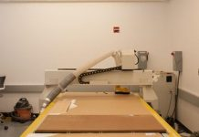 CNC Router in NYDesign FabLab (NY Design)