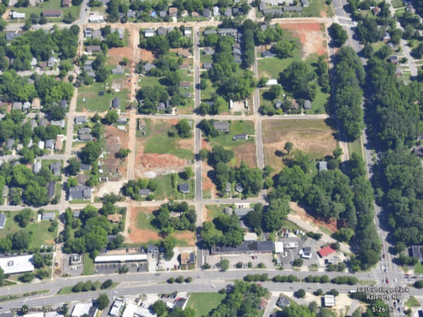 Site of the redevelopment project (Google Maps)