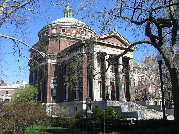 Earl Hall of Columbia University