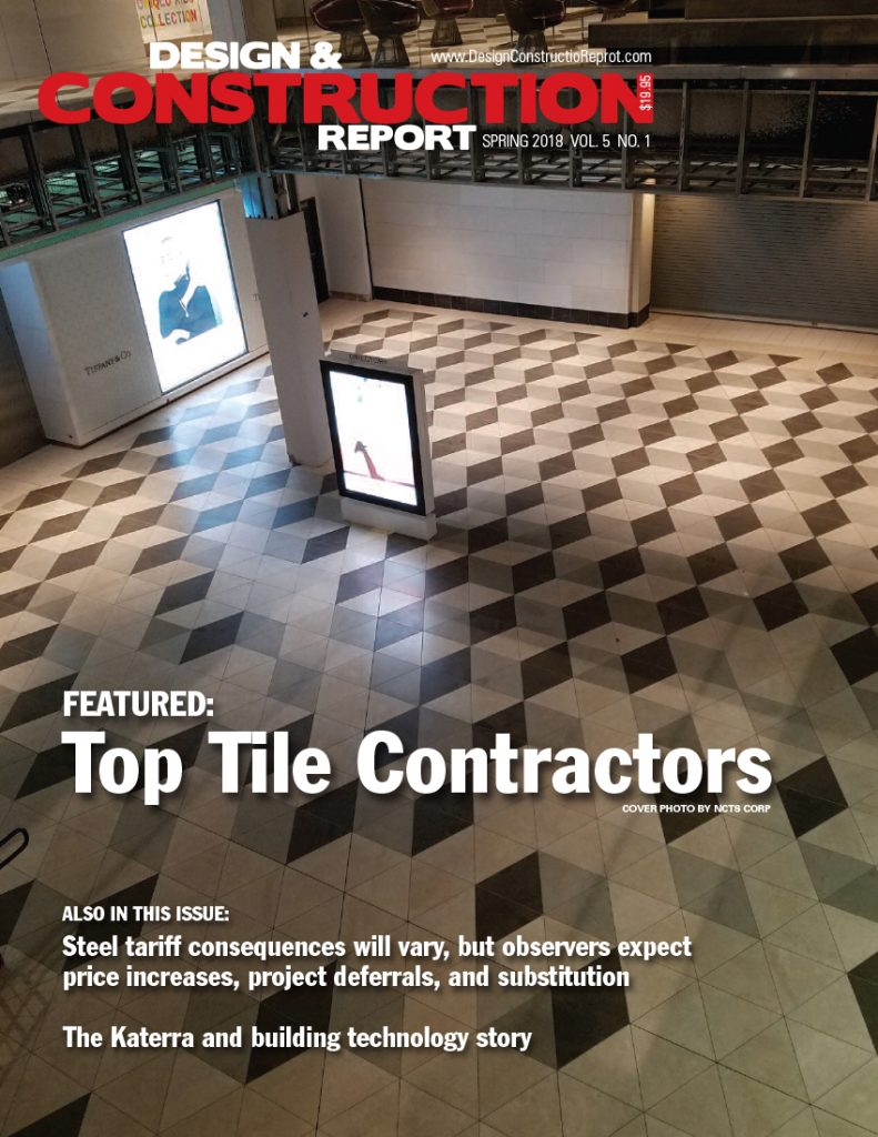 design and construction report spring issue